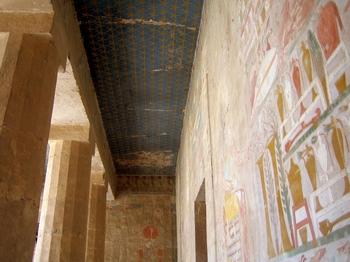 El-Deir El-Bahri Entrance Ceiling
