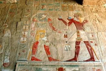El-Deir El-Bahri Mural Painting