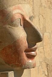 Face Statue of Queen Hatshepsut