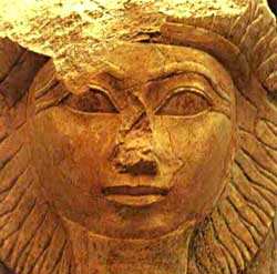 Statue of Queen Hatshepsut - Front View