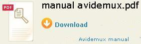 Download Avidemux Manual