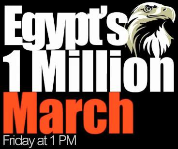 Egypt's 1 million march, Friday January 28, 2011