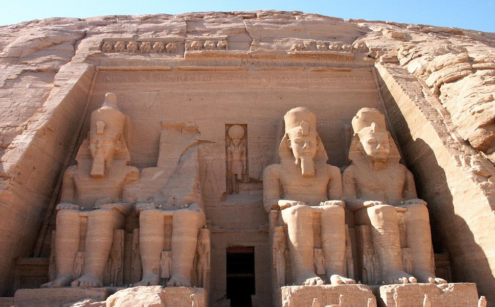 Great Temple of Ramesses II at Abu Simbel, Egypt