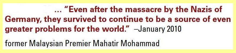 Mahatir Mohammad words