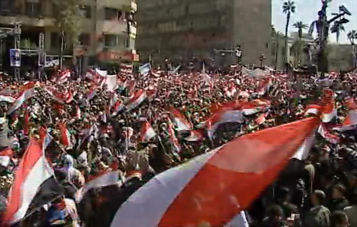 Millions of Egyptians Celebrate Victory in Tahrir Square - 2