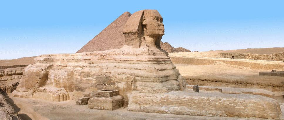 The Great Sphinx - A Panoramic View