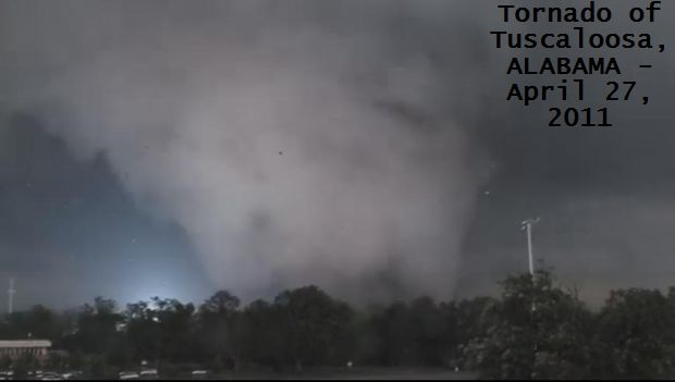 Tornado of Tuscaloosa, ALABAMA - April 27, 2011