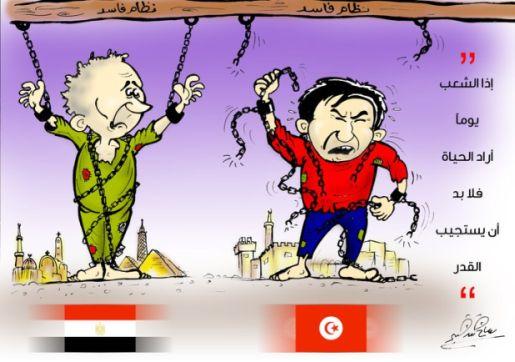 Tunisian style revolt