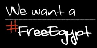 We want a FREE Egypt