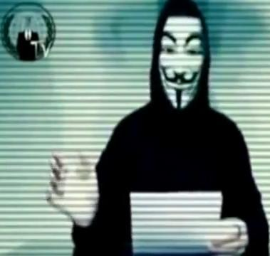 Anonymous reading their warning